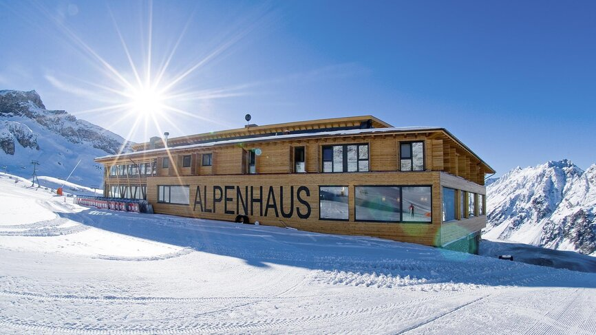 Alpenhaus Winter
