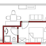 Photo of Deluxe Apartment for 2 People/2 Bedrooms/shower/toilet