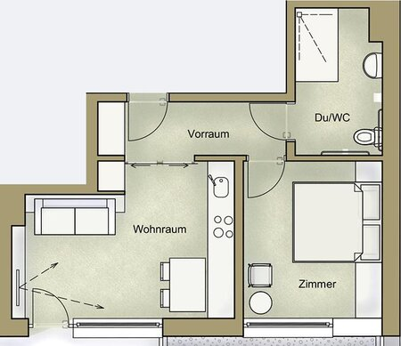 plan for apartment 2