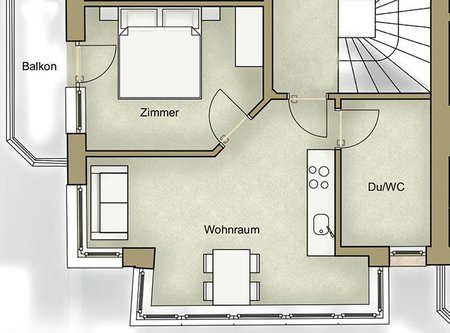 plan of apartment 3