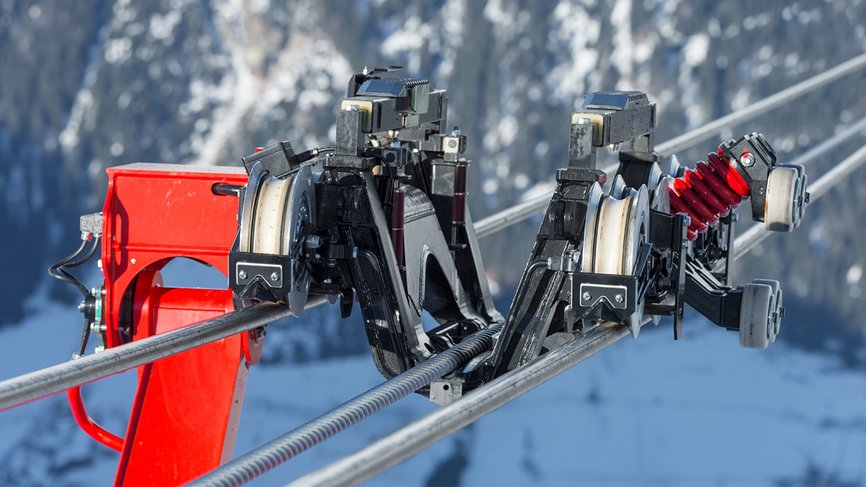 Ischgl  sets high safety standards with the tricable gondola lift