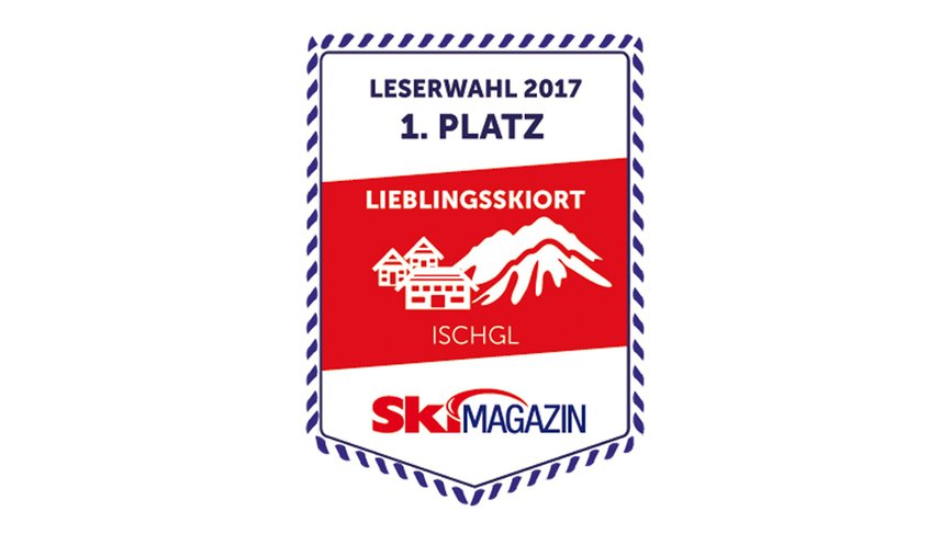 Reader's choice of the SkiMAGAZIN - favourite skiing place Ischgl