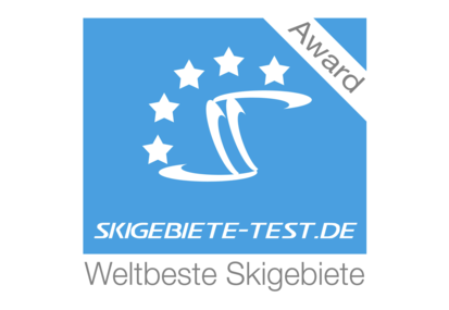 Award about the best ski area worldwide - skigebiete-test.de